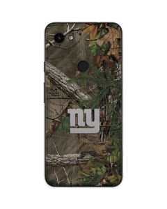 New York Giants Realtree Xtra Green Camo Google Pixel 3a Skin