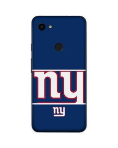 New York Giants Zone Block Google Pixel 3a Skin