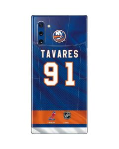 New York Islanders #91 John Tavares Galaxy Note 10 Skin
