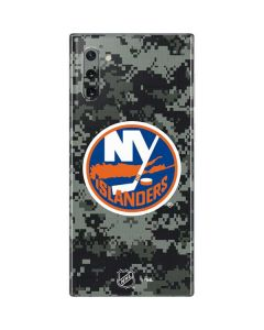 New York Islanders Camo Galaxy Note 10 Skin