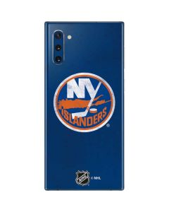 New York Islanders Distressed Galaxy Note 10 Skin