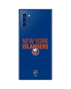 New York Islanders Lineup Galaxy Note 10 Skin