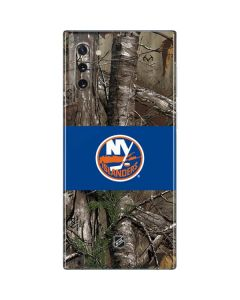 New York Islanders Realtree Xtra Camo Galaxy Note 10 Skin