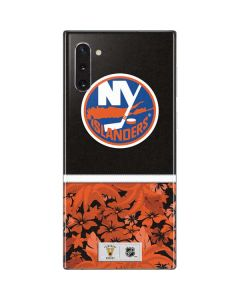 New York Islanders Retro Tropical Print Galaxy Note 10 Skin