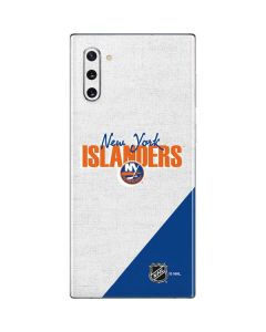 New York Islanders Script Galaxy Note 10 Skin