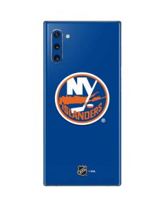 New York Islanders Solid Background Galaxy Note 10 Skin
