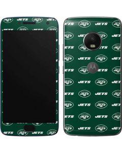 New York Jets Blitz Series Moto G5 Plus Skin