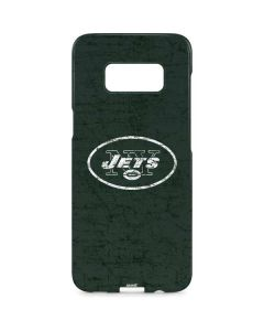 New York Jets Distressed Galaxy S8 Plus Lite Case