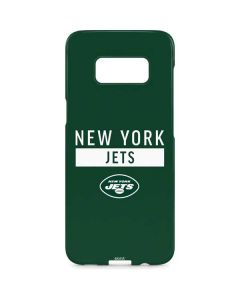 New York Jets Green Performance Series Galaxy S8 Plus Lite Case