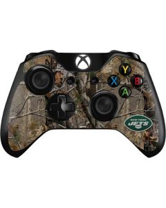 New York Jets Realtree AP Camo Xbox One Controller Skin