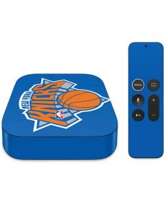New York Knicks Large Logo Apple TV Skin