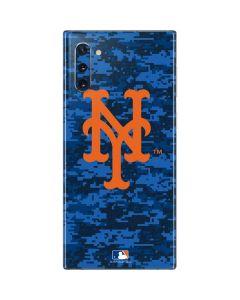 New York Mets Digi Camo Galaxy Note 10 Skin