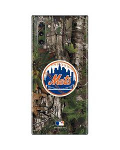 New York Mets Realtree Xtra Green Camo Galaxy Note 10 Skin