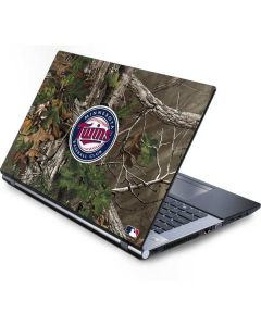 Minnesota Twins Realtree Xtra Green Camo Generic Laptop Skin