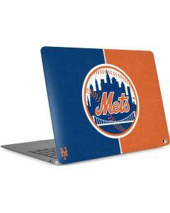 New York Mets Split Apple MacBook Air Skin