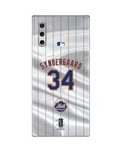 New York Mets Syndergaard #34 Galaxy Note 10 Skin