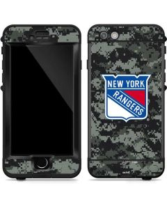 New York Rangers Camo LifeProof Nuud iPhone Skin