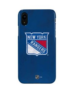 New York Rangers Distressed iPhone XR Lite Case