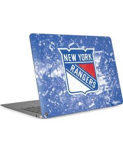New York Rangers Frozen Apple MacBook Air Skin