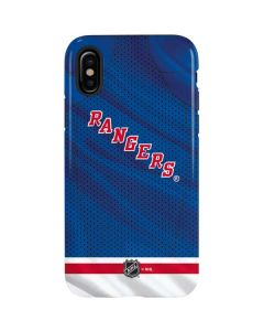 New York Rangers Home Jersey iPhone X Pro Case