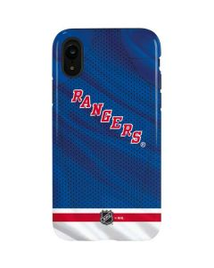 New York Rangers Home Jersey iPhone XR Pro Case