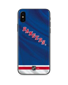 New York Rangers Home Jersey iPhone XS Skin