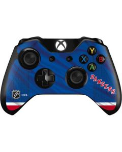 New York Rangers Home Jersey Xbox One Controller Skin