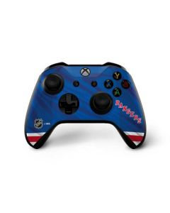 New York Rangers Home Jersey Xbox One X Controller Skin