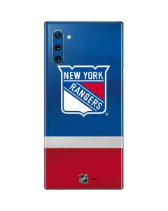 New York Rangers Jersey Galaxy Note 10 Skin