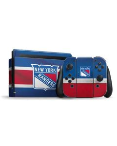 New York Rangers Jersey Nintendo Switch Bundle Skin