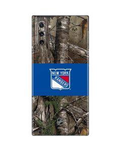 New York Rangers Realtree Xtra Camo Galaxy Note 10 Skin