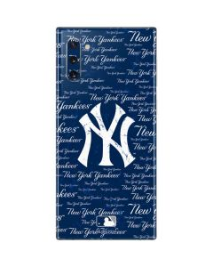 New York Yankees - Cap Logo Blast Galaxy Note 10 Skin