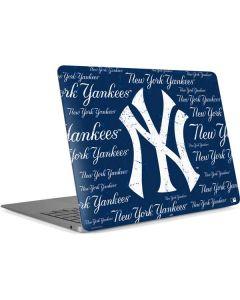 New York Yankees - Cap Logo Blast Apple MacBook Air Skin