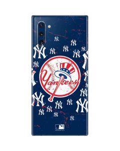 New York Yankees - Primary Logo Blast Galaxy Note 10 Skin