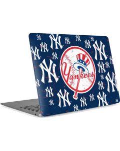 New York Yankees - Primary Logo Blast Apple MacBook Air Skin