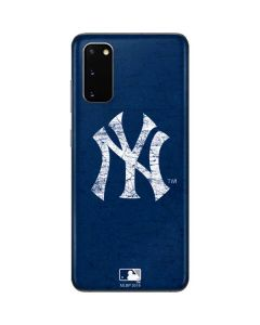 New York Yankees - Solid Distressed Galaxy S20 Skin