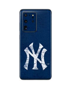 New York Yankees - Solid Distressed Galaxy S20 Ultra 5G Skin