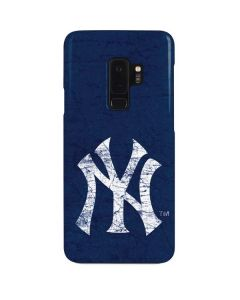 New York Yankees - Solid Distressed Galaxy S9 Plus Lite Case
