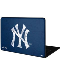New York Yankees - Solid Distressed Google Pixelbook Go Skin