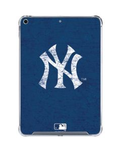 New York Yankees - Solid Distressed iPad 10.2in (2019-20) Clear Case