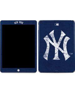 New York Yankees - Solid Distressed Apple iPad Skin