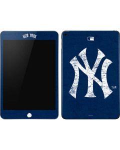 New York Yankees - Solid Distressed Apple iPad Mini Skin