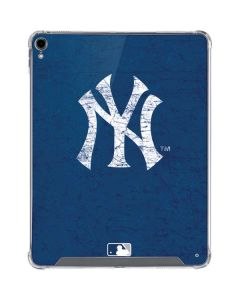 New York Yankees - Solid Distressed iPad Pro 12.9in (2018-19) Clear Case