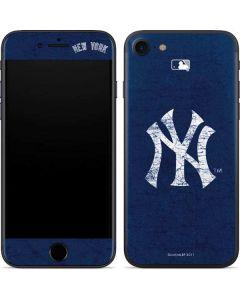New York Yankees - Solid Distressed iPhone SE Skin