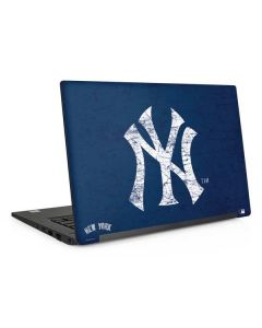 New York Yankees - Solid Distressed Dell Latitude Skin