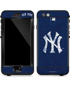 New York Yankees - Solid Distressed LifeProof Nuud iPhone Skin