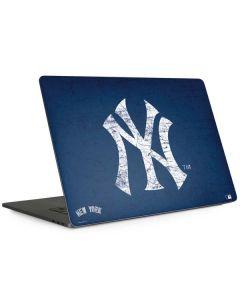 New York Yankees - Solid Distressed Apple MacBook Pro 15-inch Skin