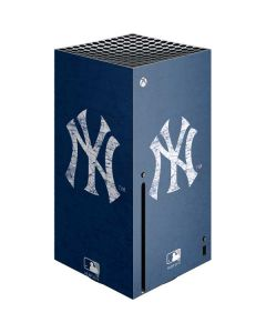 New York Yankees - Solid Distressed Xbox Series X Console Skin