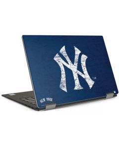New York Yankees - Solid Distressed Dell XPS Skin