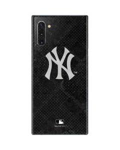 New York Yankees Dark Wash Galaxy Note 10 Skin
